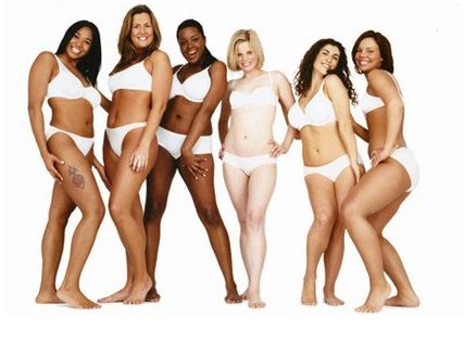 Women of Dove Real Beauty campaign