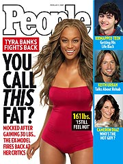 Tyra on the cover of People Magazine