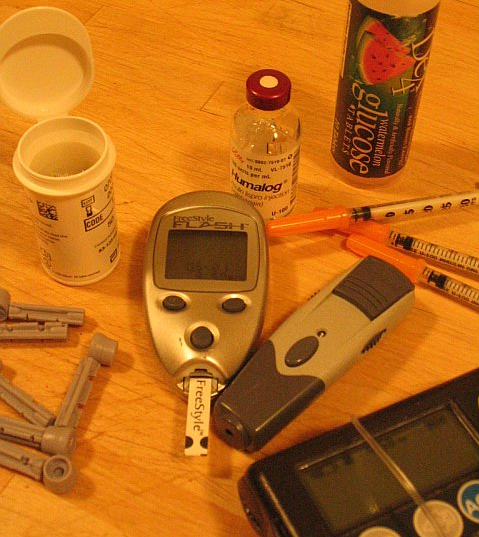 Alison's Diabetes Kit