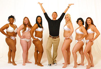 Carson and the How to Look Good Naked models