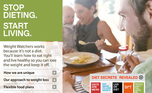Weightwatchers screencap