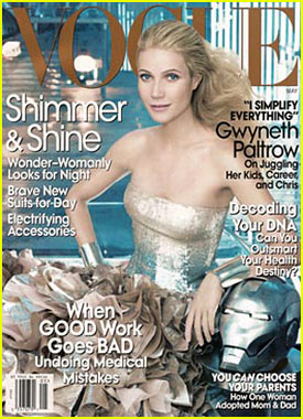 Gwyneth Paltrow on Vogue Cover