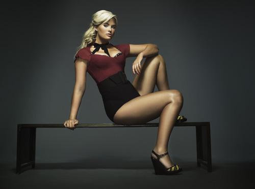 Whitney on America's Next Top Model