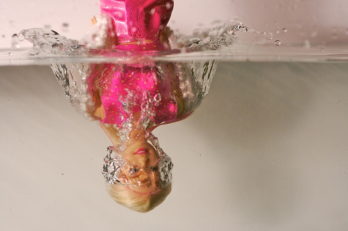 Drowning Barbie