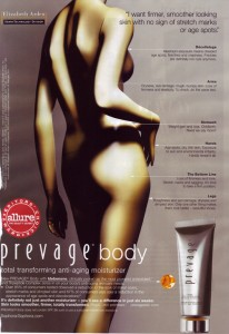 Vogue April 2009 Prevage Ad