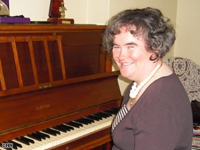Susan Boyle At Her Home Piano