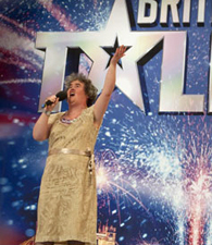 Susan Boyle on <i>Britain's Got Talent</i>