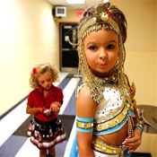 One of the contestants from the show Toddlers and Tiaras on TLC