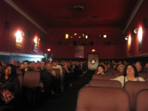 Our beautiful audience at the Clay Theatre.