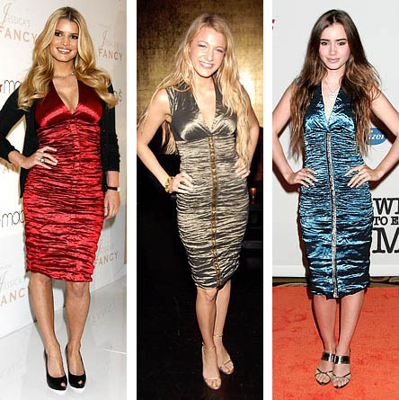 Jessica Simpson, Blake Lively, and Lily Collins