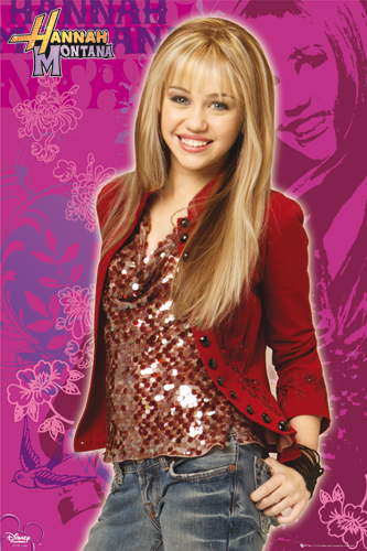 "Miley Cyrus as Disney's ""Hannah Montana"""