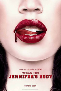 Movie poster for <i>Jennifer's Body</i>