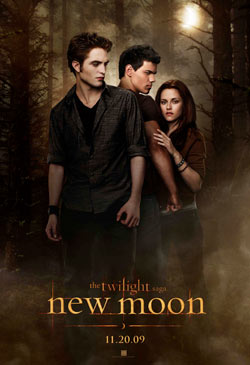 <em>New Moon</em> movie poster