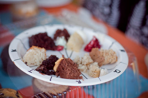 One of our judging plates. It was a tough decision... (photo by Tea)
