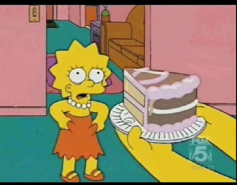 Lisa from <em>The Simpsons</em>
