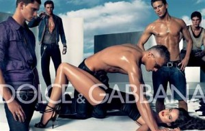 This Dolce & Gabbana ad (2007) glamorizes gang rape
