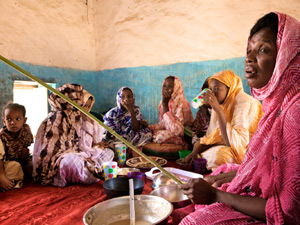Mauritanian girls forced to gain large amounts of weight so they will be more appealing to men