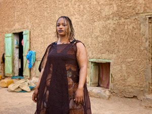 This Mauritanian women fits her cultural beauty standards.