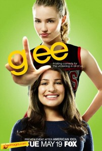 A promo photo featuring Quinn and Rachel