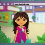 Tween Dora inspires girls to explore…the mall