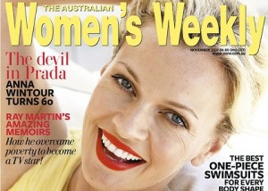 The cover of the November issue of The Australian <em>Women's Weekly</em>
