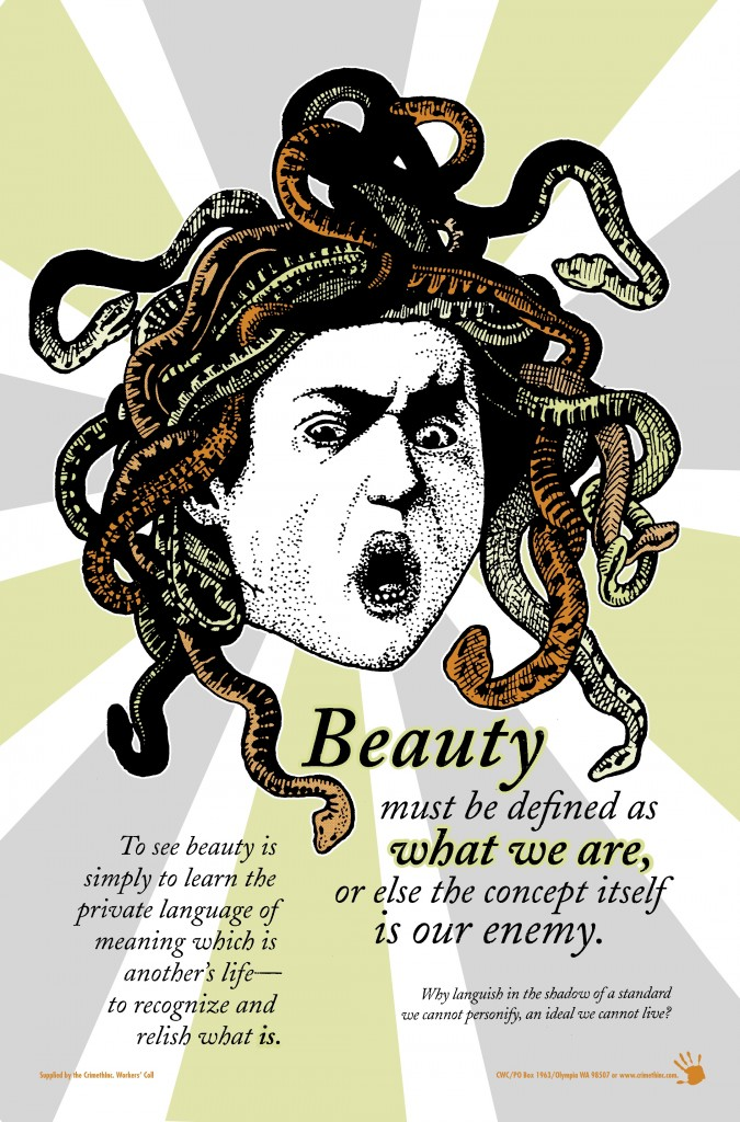 CrimethInc.'s Beauty Subversion Poster