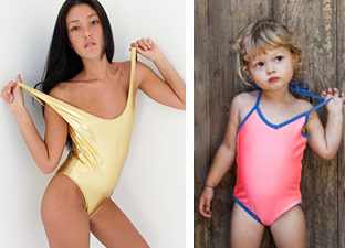 Do these American Apparel models convey similar messages despite their age difference?