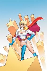 Comic book superheroine Power Girl