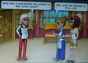 The older woman enemy in Pet Show Craze