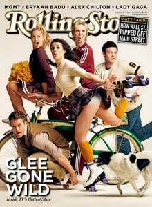 rolling stone glee cover Mark seliger