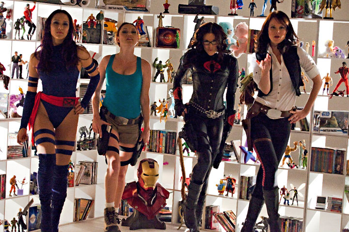 "The ""Geek and Gamer Girls"" video proves women can be sexy, skilled, and yes, geeky."