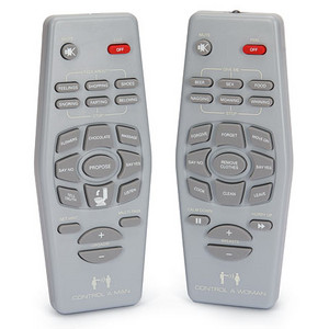 "Control your mate and reinforce gender stereotypes at the same time with these ""hilarious"" remotes."