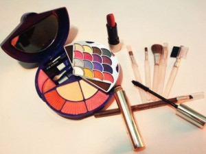 For the eight-year-old looking to downplay her age, there's Geo-Girl cosmetics.