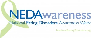 "The slogan for this year's Eating Disorder Awareness Week is ""It's time to talk about it."""