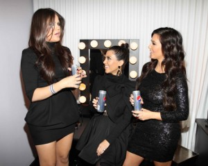 Uh oh, if the Kardashians are endorsing Pepsi's Skinny Can, it can't be good.