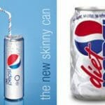 "Pepsi introduces ""the skinny can"" for Fashion Week"