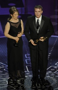 Best Art Direction winner, Robert Stromberg, regretted not losing 20 pounds in time for Hollywood's biggest night.