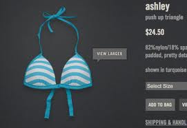 Abercrombie & Fitch's website peddled padded push-up bras to girls as young as seven.