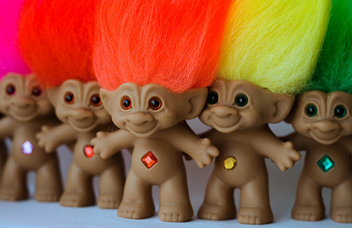 The classic trolls we know and love.