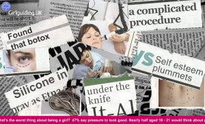 GirlGuidingUK takes action to combat body insecurities.