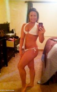 "Demi Lovato tweets a bikini shot of herself, post-treatment for what she calls a ""lifelong disease."""