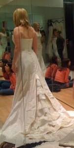 Kjerstin models her first love, dress #1...
