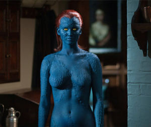 X-Men's Mystique struggles to accept herself as she is.