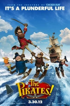 Movie poster for The Pirates.