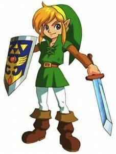 Image of Zelda's main character, Link.