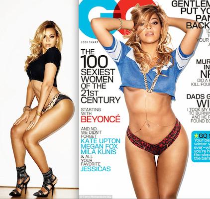 Beyonce Thigh Gap