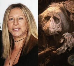 Image of Barbra Streisand compared to a Mystic.