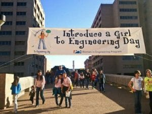 Introduce a Girl to Engineering Day!