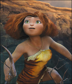 Eep, main character from The Croods.
