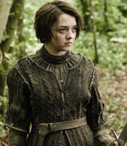 Arya Stark of Game of Thrones.